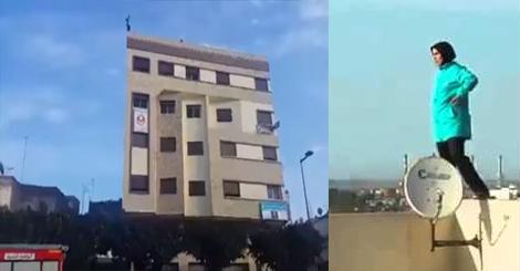 بالفيديو : محاولة انتحار سيدة بالقنيطرة
