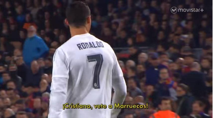 بالفيديو .. جماهير برشلونة تهاجم رونالدو وتطالبه بالذهاب للمغرب