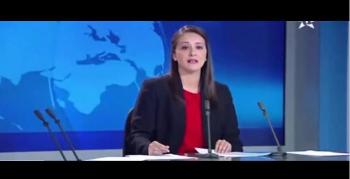 شجار مباشر في بلاطو أخبار القناة الأولى