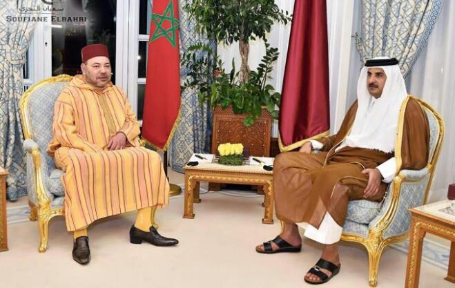 الملك يختتم زيارته لقطر ويشيد بنتائج المباحثات
