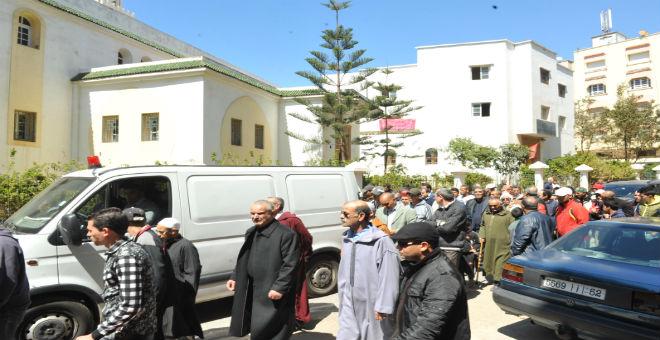 بالصور.. جنازة المغربية ضحية تفجيرات بروكسيل