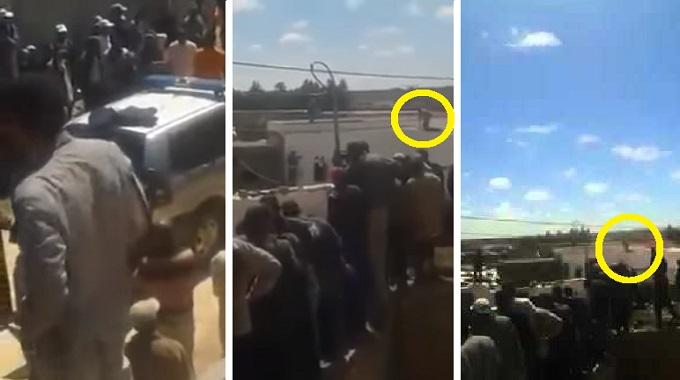 بالفيديو: لحظة اعتقال الجاني الذي قتل 10 أفراد من أسرته بإقليم الجديدة