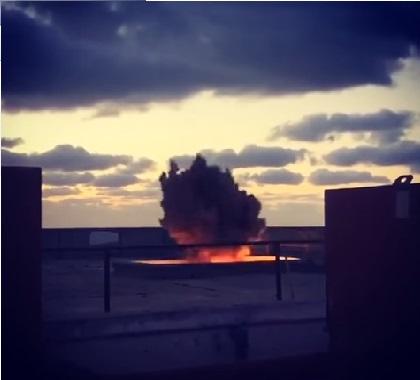 بالفيديو: الإنفجار الذي سيعرض في