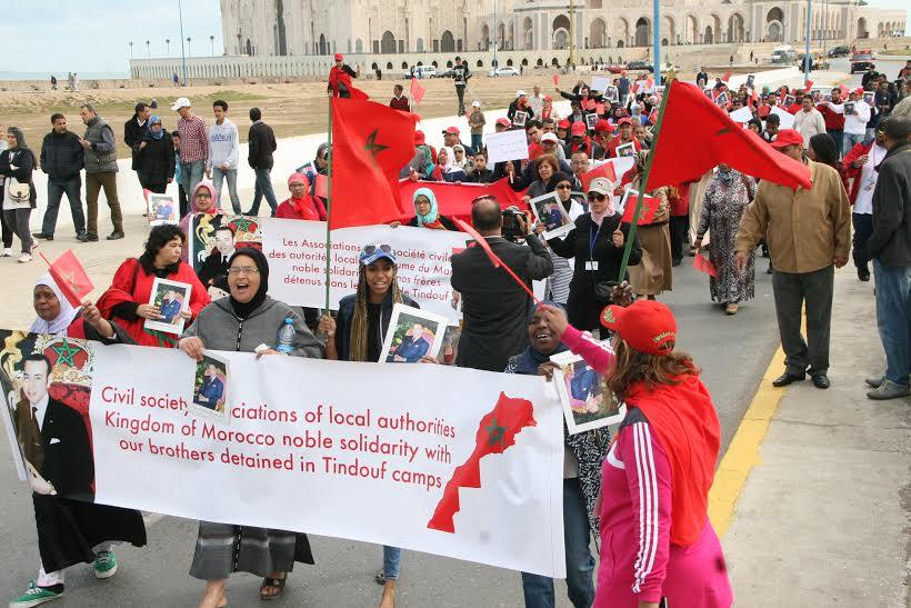 جمعيات مغربية تدعو لوقف معاناة المغاربة المحتجزين بتندوف
