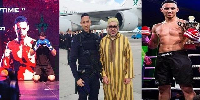 بالفيديو: تعرف على العنصر المسلح الذي التقط صورة مع الملك بمطار أمستردام
