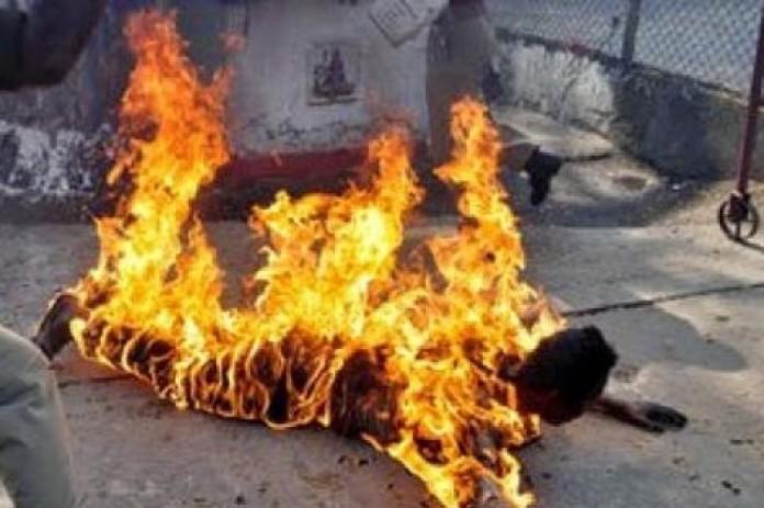 طنجة. وفاة سائق طاكسي أضرم النار في نفسه!