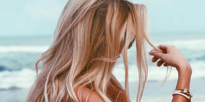 الشعر البني