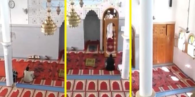 بالفيديو: صلاة جمعة بدون مصلين في الراشيدية