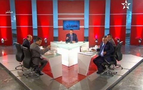 بالفيديو: شجار على المباشر في برنامج سياسي على قناة الأولى