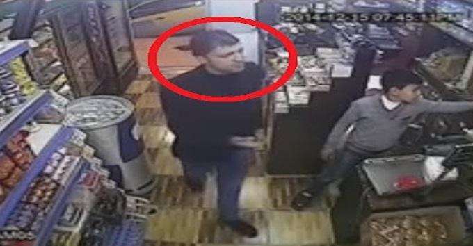 بالفيديو: أذكى سرقة في العالم وصاحب المحل لم يفهم شيء