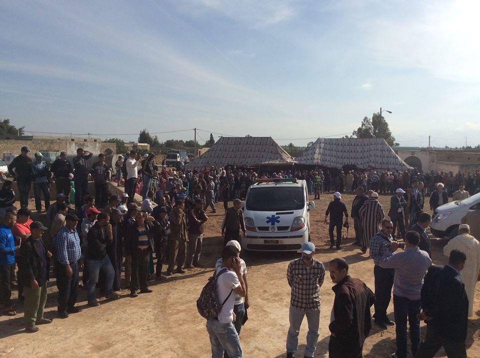 بالصور. جثامين ضحايا مجزرة الجديدة تُشيع في جنازة مهيبة