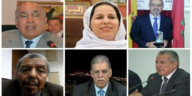 زعماء البوليساريو الوحدويون بالمغرب