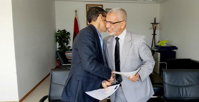 العمراني ومدير المكتب المغربي لحقوق المؤلف