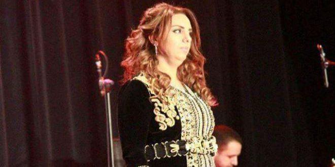 الفنانة المغربية قمر أعراس