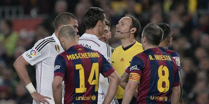 حرب بين أنصار ريال مدريد وبرشلونة