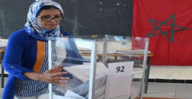المرأة والانتخابات