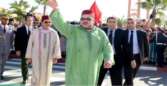 الملك: حريصون على جعل الصحراء المغربية محورا للمبادلات التجارية