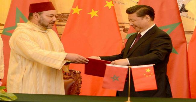 الملك والرئيس الصيني