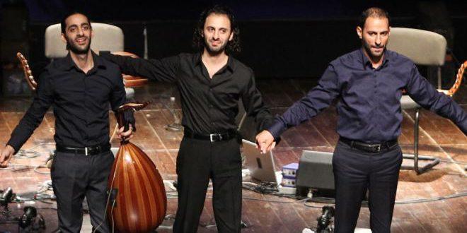 جائزة زرياب للثلاثي جبران من فلسطين