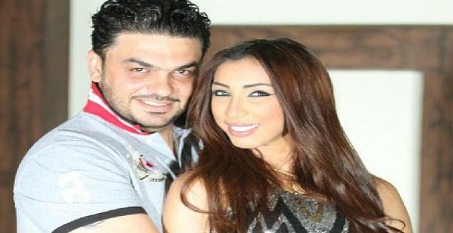 دنيا باطما و محمد الترك يحتفلان بزواجهما للمرة الثانية