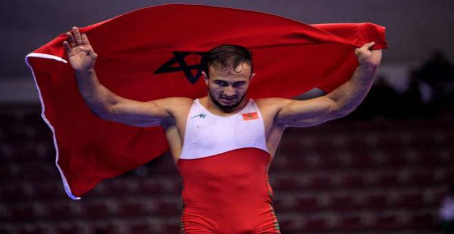 أيت أوكرام: طموحي المعدن الأولمبي وفخور بتمثيل المغرب