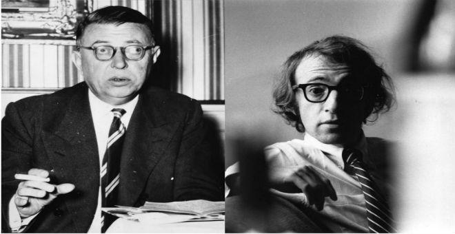 وودي آلن يكشف أن جون بول سارتر اشترط المال لمقابلته