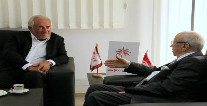 تونس تلجأ إلى خدمات ستراوس كان الاستشارية