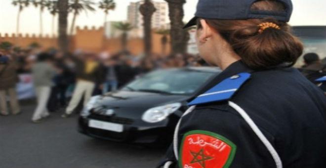فتح بحث  قضائي مع  مواطنة صفعت شرطية مرور في الرباط