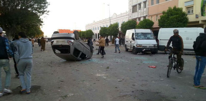 أحداث دامية بين أنصار الوداد وسكان جمعة سحيم
