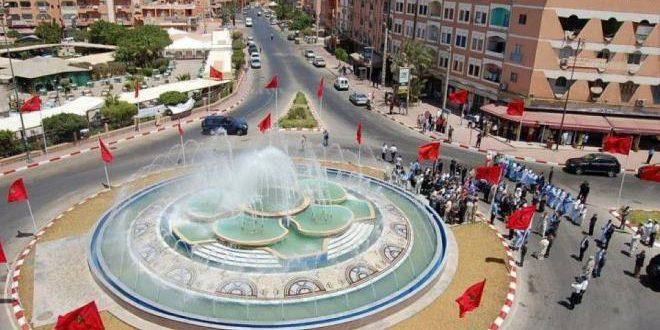 مدينة العيون كبرى حواضر الصحراء المغربية.
