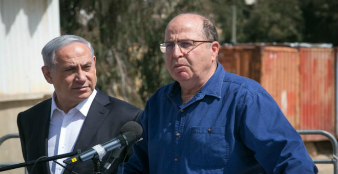 توتر العلاقة مع نتانياهو تدفع وزير الدفاع الإسرائيلي إلى الاستقالة