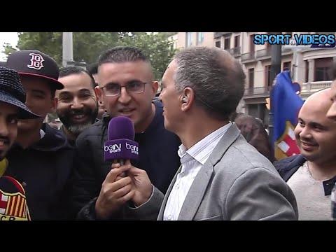 مغاربة سعداء بتتويج برشلونة بالليغا