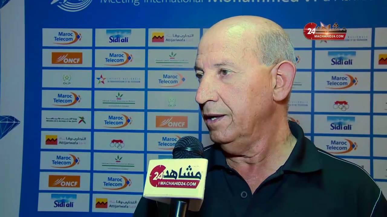 بن الشيخ يتحدث حول ملتقى محمد السادس لألعاب القوى