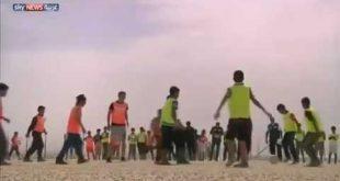 بالفيديو.. أوزيل في مخيم اللاجئين السوريين