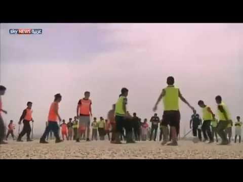 بالفيديو.. مسعود أوزيل في مخيم اللاجئين السوريين