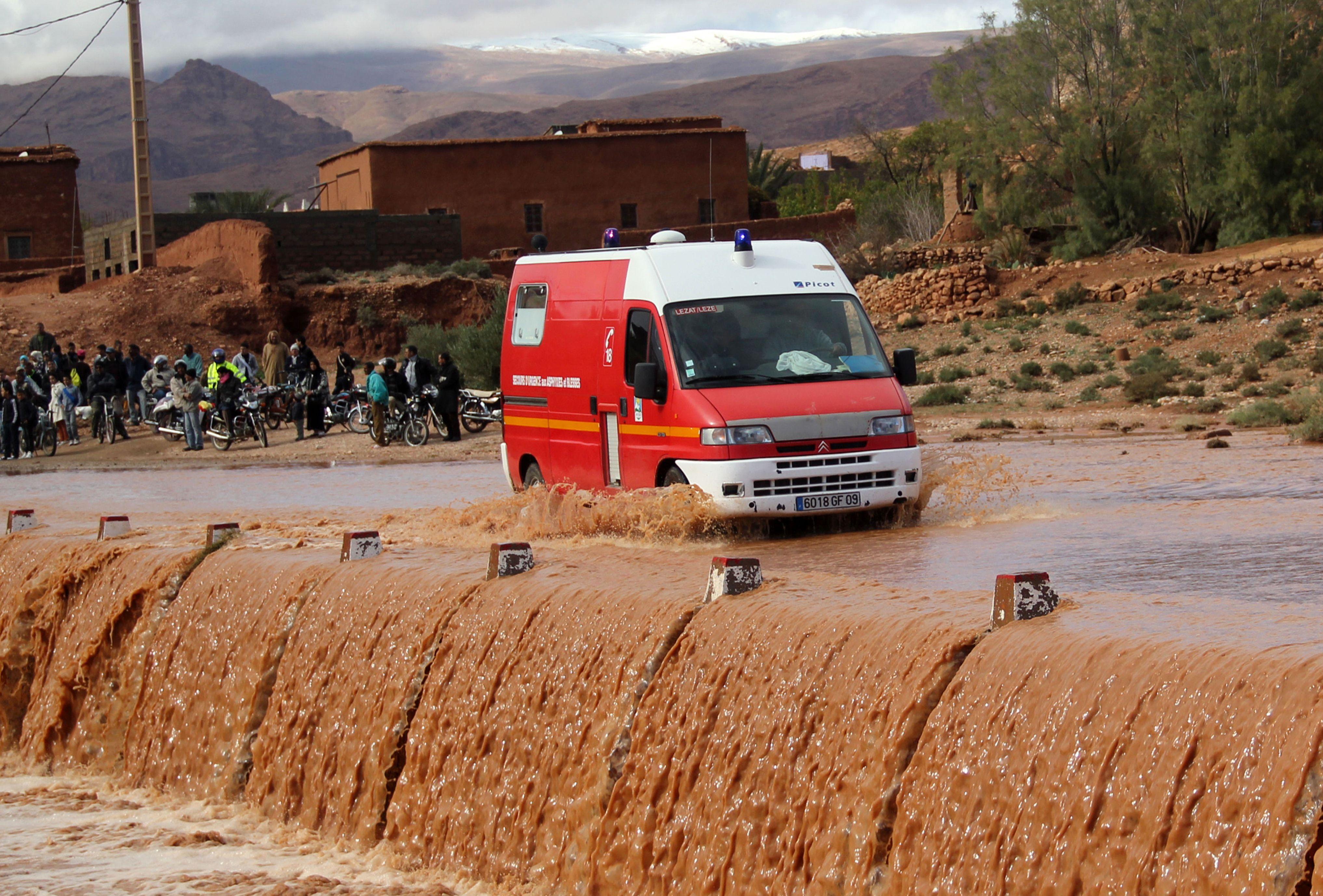 6 قتلى واثنان في عداد المفقودين في فيضانات الجنوب