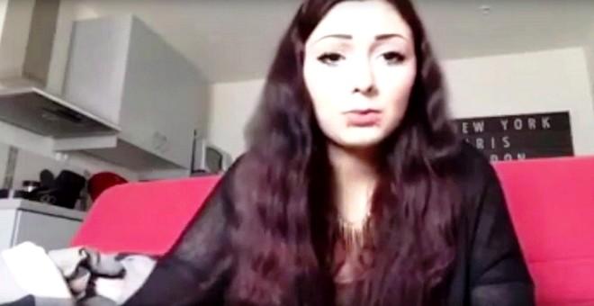 بالفيديو.. شابة فرنسية تنتحر على الهواء مباشرة