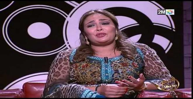 فيديو مؤثر: انهيار الممثلة حنان الإبراهيمي في برنامج