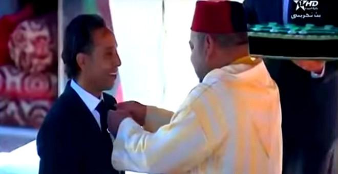 شاهد ماذا قال الملك محمد السادس لسعيد مسكر