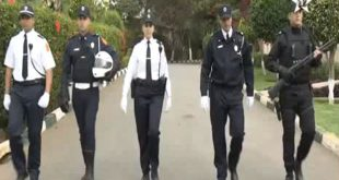 أول ظهور للزي الجديد للشرطة المغربية