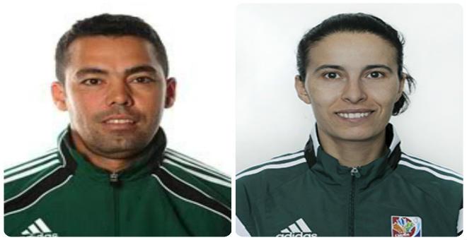 أولحاج و عشيق يمثلان التحكيم المغربي في الأولمبياد