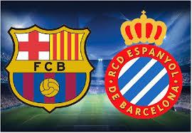 البث المباشر لمباراة برشلونة - إسبانيول