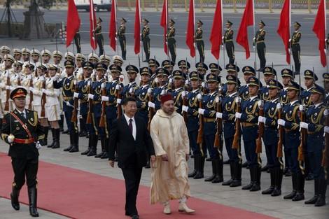 الرئيس الصيني يخصص استقبالا تاريخيا للملك محمد السادس