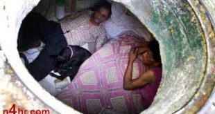 معاناة عائلة مغربية تعيش في صندوق 2 أمتار