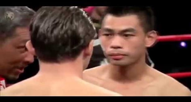 المقاتل الشاب المغربي محمد جرايا يسقط بطل تايلاند بالضربة القاضية