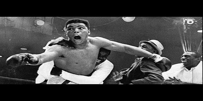 شاهد ماذا فعل محمد علي كلاي بملاكم استهزء باسم محمد (مترجم)