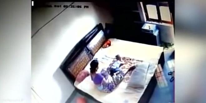 بالفيديو.. وضع كاميرا لمراقبة زوجته لكن ما شاهده غيّر حياته!