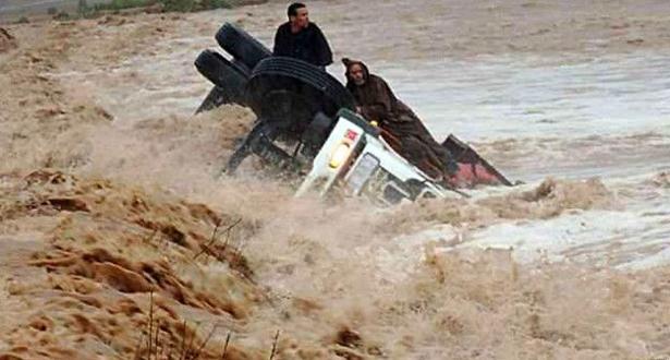فيديو .. فيضانات خطيرة تجتاح منطقة أوريكة