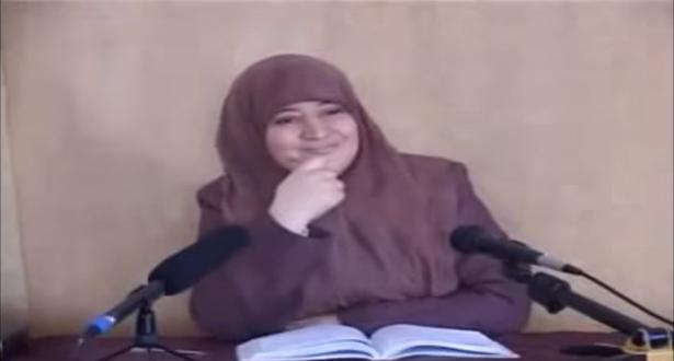 فاطمة النجار التي تورطت مع قيادي حركة التوحيد و الإصلاح في فضيحة جنسية..تنصح الفتيات