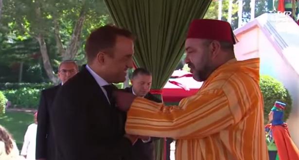 فيديو التوشيحات الملكية بمناسبة الذكرى 53 لميلاد صاحب الجلالة